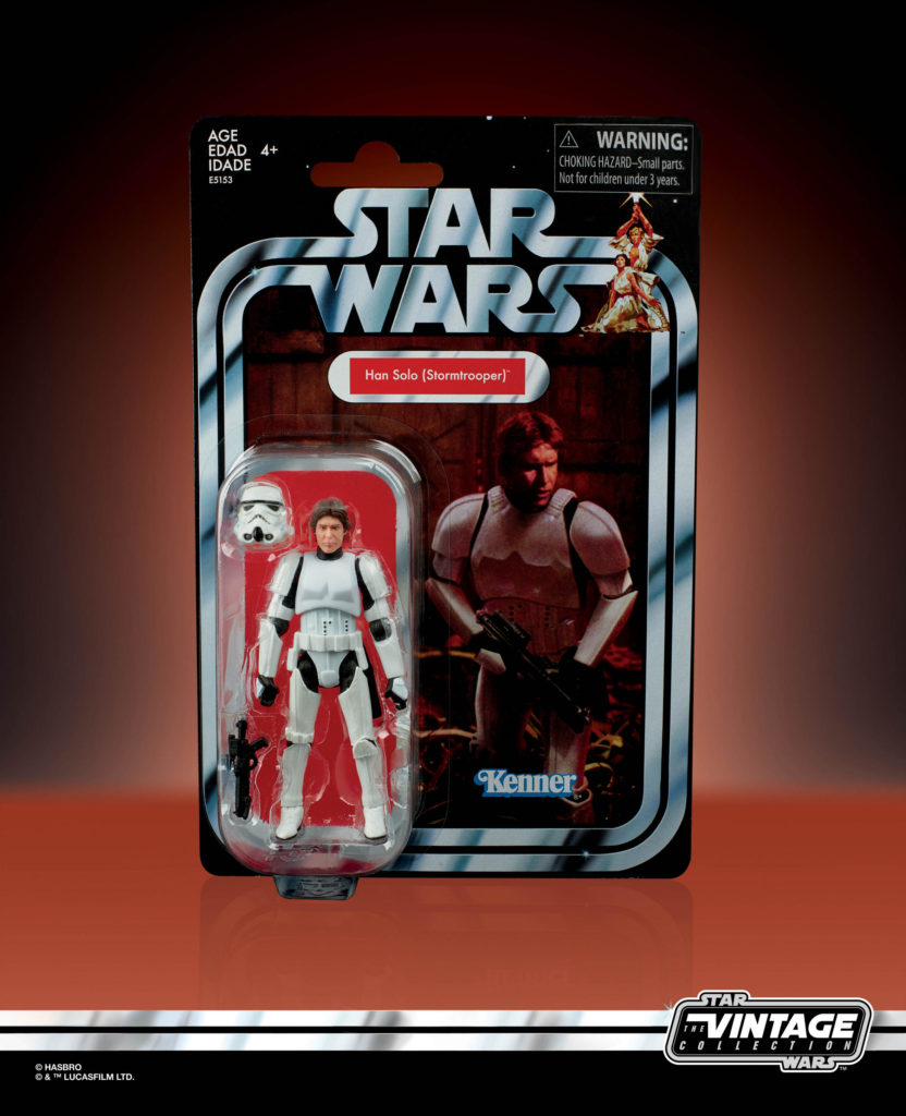 STAR WARS: THE VINTAGE COLLECTION STORMTROOPER HAN SOLO Figure
