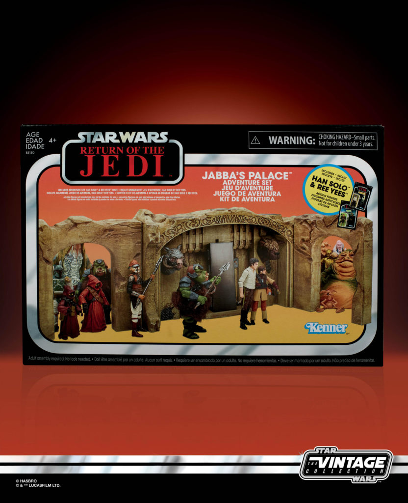 STAR WARS: THE VINTAGE COLLECTION JABBA'S PALACE ADVENTURE SET PLAYSET