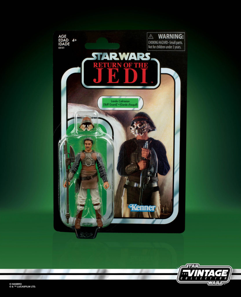 STAR WARS: THE VINTAGE COLLECTION LANDO CALRISSIAN (SKIFF GUARD) 3.75-INCH Figure