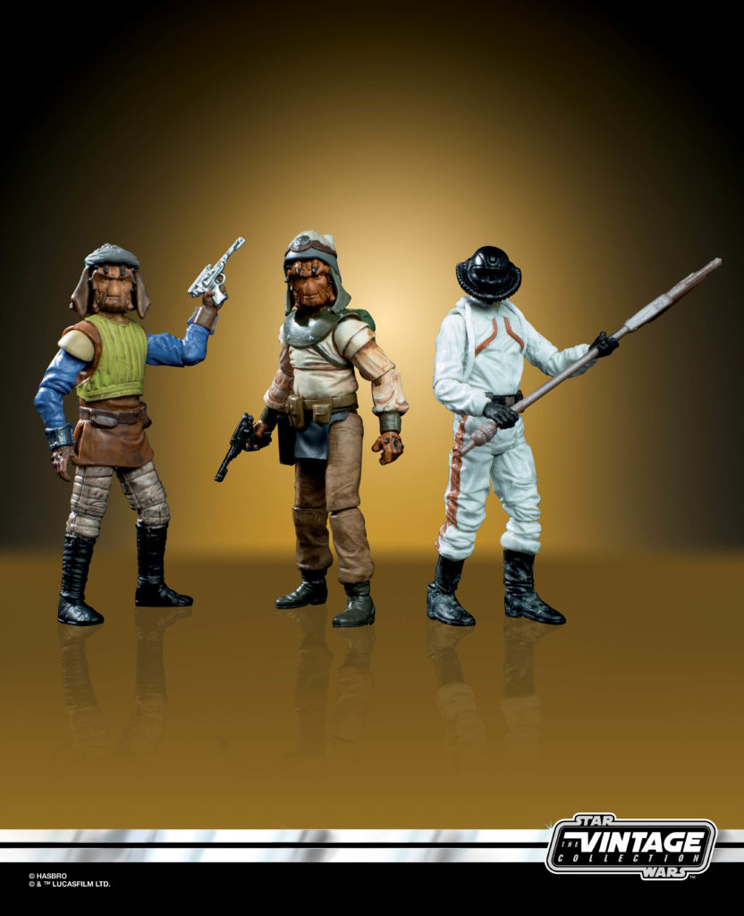 STAR WARS: THE VINTAGE COLLECTION TATOOINE SKIFF 3.75-INCH 3-PACK