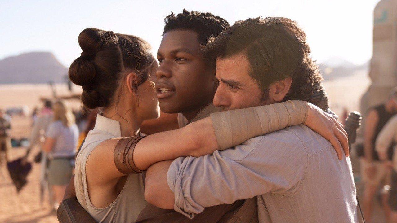 Star Wars Episode IX Production Wrap Photo