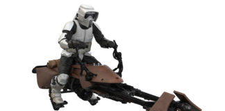 Scout trooper on speederbike (Star Wars: Return of the Jedi) Keepsake Ornament.