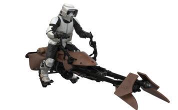 Scout trooper on speederbike (Star Wars: Return of the Jedi) Keepsake Ornament.