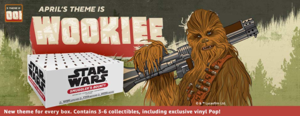 Wookiee Box from Funko and Amazon