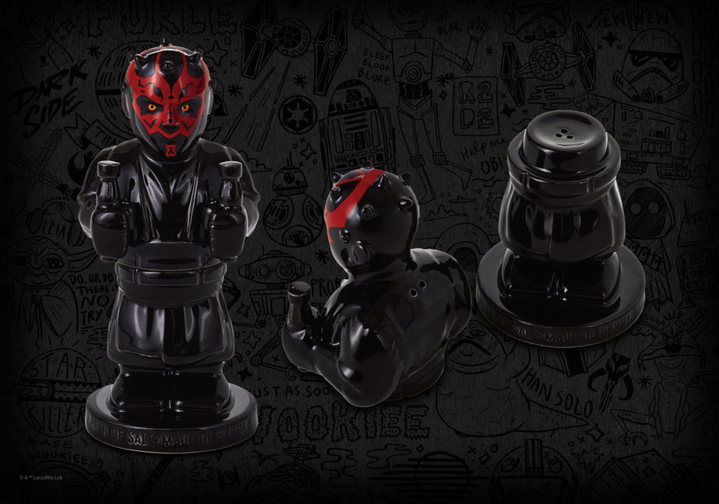 Darth Maul salt & pepper shaker, $25