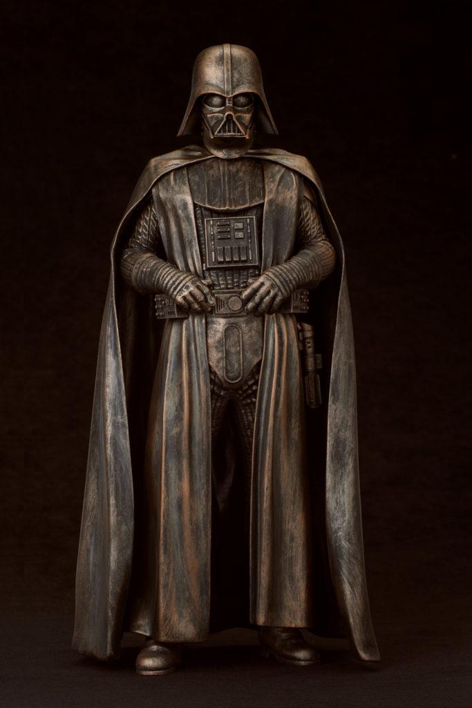 Bronze Darth Vader statue, $119.99