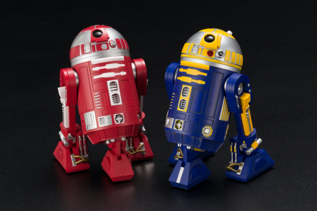 R2-R2 and R2-B1 ARTFX+ statues 2-pack, $129.99