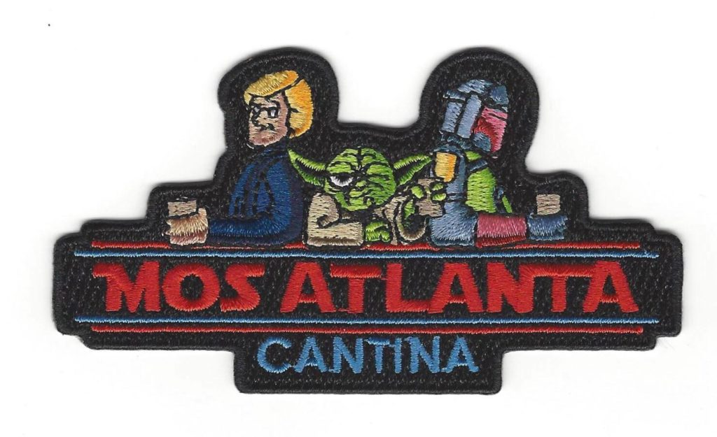 Mos Atlanta Cantina Logo Patch