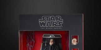 Star Wars The Black Series – Emperor Palpatine with Throne