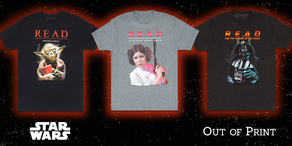 Out of Print Clothing Star Wars T-Shirts
