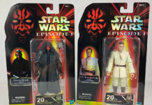 Star Wars: The Black Series Maul and Kenobi Figures