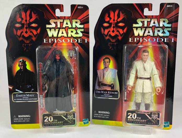 Star Wars: The Black Series Maul and Kenobi Figures