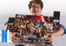 Bobby Moynihan in an SNL Star Wars Skit