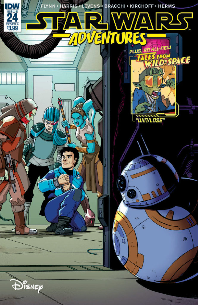 Star Wars Adventures 24 Cover