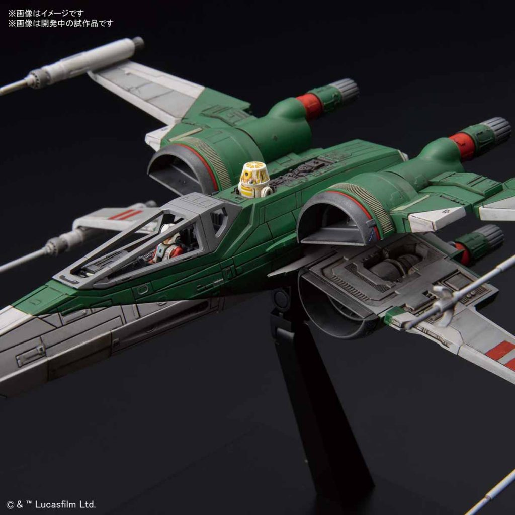 New Images Of A Couple Of Bandai X Wing Fighters From The Rise Of Skywalker Outer Rim News