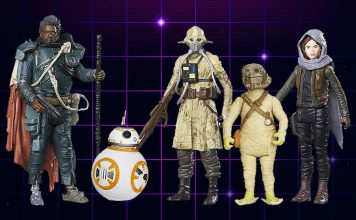 Star Wars 5POA Action Figures