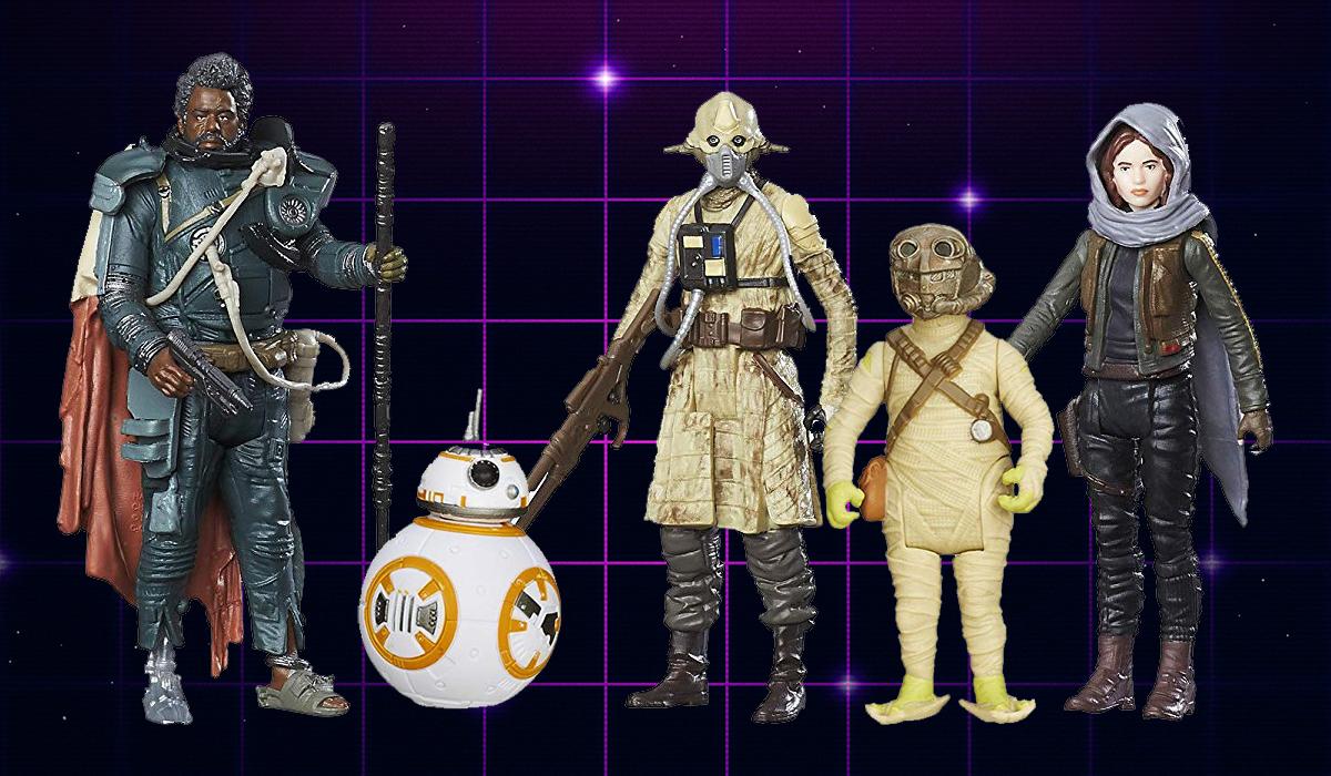 Star Wars 5POA Action Figures