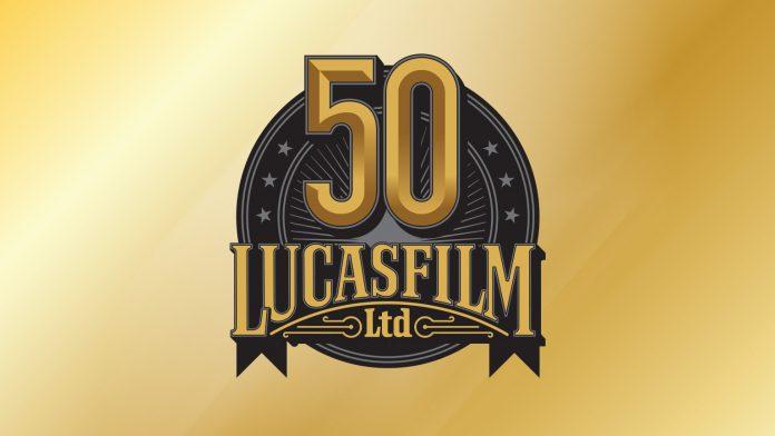 Lucasfilm 50th Anniversary Logo